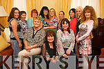 Mary Barrett, from Causeway retirement party at the Grand Hotel on Friday. Mary is retiring after spending 12 years working in Beru. Pictured are, front row, left to right: Mary Barrett, Mary Barrett Senior (retiring) and Martina Griffin. Back row, from left: Nicola Mullins, Mary Flahive, Martina Brosnan, Patsy Clifford, Margaret Rodgers, Bernie Breen, Treasa Foran, Marylin Roche and Mary Kingston.