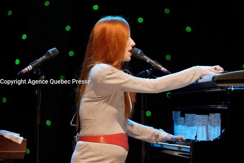Montreal (Qc) CANADA -august 11  2009 file photo -Tori Amos