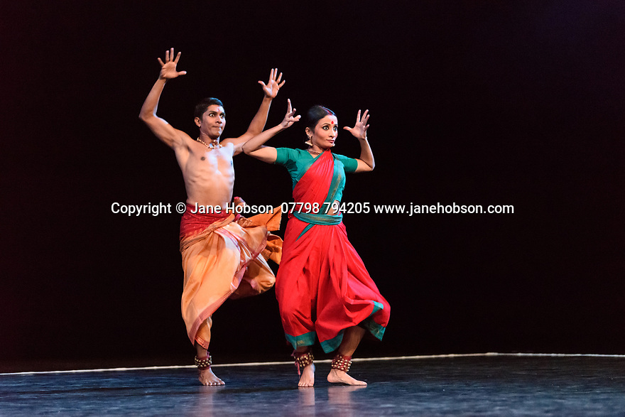 In its second year at Sadler&rsquo;s Wells, Darbar Festival welcomes some of the most exciting names in classical Indian dance, curated by Sadler&rsquo;s Wells Associate Artist Akram Khan. In the first performance of the festival, Renjith Babu and Neha Mondal Chakravarty present &ldquo;An Evening of Bharatanatyam&rdquo; by the bharatanatyam and contemporary artist Mavin Khoo. The second evening of the programme, &ldquo;Adventures in Odissi and Kathak&rdquo;, combines two classical Indian dance forms in solo performances by Sujata Mohapatra and Gauri Diwakar.<br /> Winner of the 2017 Sangeet Natak Akademi award for outstanding contribution to odissi, Sujata Mohapatra performs work that treads the line between odissi dance and theatre. Multi award-winning kathak dancer Gauri Diwakar performs Hari Ho...Gati Meri (&ldquo;Let my salvation be in the supreme&rdquo;), a solo choreographed by Aditi Mangaldas.<br /> <br /> Pictured: Renjith Babu and Neha Mondal Chakravarty in &ldquo;An Evening of Bharatanatyam&rdquo; by the bharatanatyam and contemporary artist, Mavin Khoo.