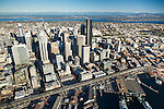 Aerial view of Seattle skyline