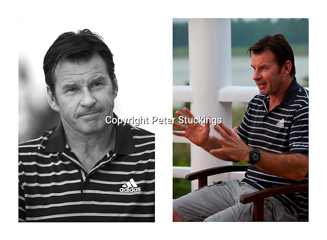 Sir Nick Faldo interview in Hue, Vietnam