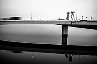 Daishi-bashi Bridge, Haneda, Japan, 2016.