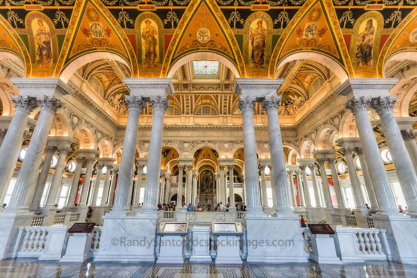 Washington DC  Library of Congress interior