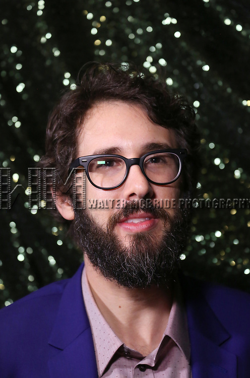 Josh Groban attends the 2017 Tony Awards Meet The Nominees Press Junket at the Sofitel Hotel on May 3, 2017 in New York City.