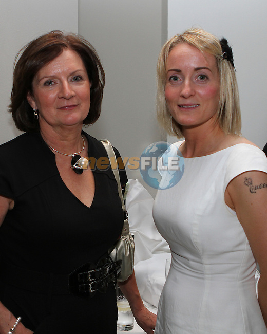 Christine O'Mahoney, Career Matters with Louisa Condon, the ant team at the Network Ireland National Conference and Business Women of the Year Awards 2012 - Friday 28th September in Drogheda, Co. Louth..Photo NEWSFILE/Jenny Matthews.