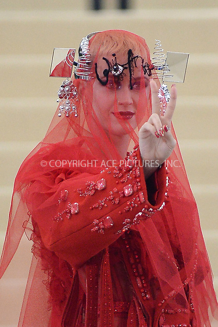 www.acepixs.com<br /> <br /> May 1 2017, New York City<br /> <br /> Katy Perry arriving at the 'Rei Kawakubo/Comme des Garcons: Art Of The In-Between' Costume Institute Gala at the Metropolitan Museum of Art on May 1, 2017 in New York City<br /> <br /> By Line: Kristin Callahan/ACE Pictures<br /> <br /> <br /> ACE Pictures Inc<br /> Tel: 6467670430<br /> Email: info@acepixs.com<br /> www.acepixs.com