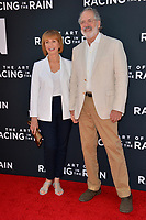 "LOS ANGELES, USA. August 02, 2019: Kathy Baker & Steven Robman at the premiere of ""The Art of Racing in the Rain"" at the El Capitan Theatre.<br /> Picture: Paul Smith/Featureflash"