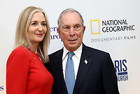 "LONDON, UK - DECEMBER 11:  Deborah Armstrong and Michael Bloomberg attend the London Premiere of Bloomberg and National Geographic's ""Paris to Pittsburgh"" at the BAFTA Theatre on December 11, 2018 in London, UK. (Photo by Vianney Le Caer/National Geographic/PictureGroup)"