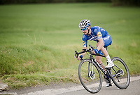 Julian ALAPHILIPPE (FRA/Deceuninck-Quick Step) chases back to the peloton in the 83rd La Flèche Wallonne 2019 (1.UWT)<br />