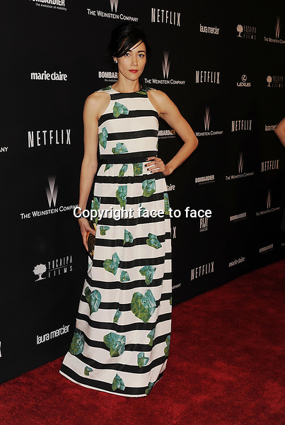 BEVERLY HILLS, CA- JANUARY 12: Actress Sandrine Holt attends The Weinstein Company &amp; Netflix 2014 Golden Globes After Party held at The Beverly Hilton Hotel on January 12, 2014 in Beverly Hills, California.<br /> Credit: Mayer/face to face<br /> - No Rights for USA, Canada and France -