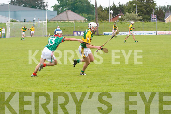Kerry 1-18 defeated Mayo 011 in the Christy Ring Hurling Cup first round game played at Austin Stack Park on Saturday afternoon.