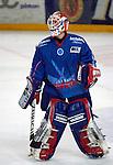 Eishockey, DEL, Deutsche Eishockey Liga 2003/2004 , 1.Bundesliga Arena Nuernberg (Germany) Nuernberg Ice Tigers - Iserlohn Roosters (7:2) Michael Fountain (Iserlohn)