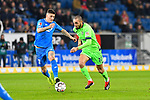 01.12.2018, wirsol Rhein-Neckar-Arena, Sinsheim, GER, 1 FBL, TSG 1899 Hoffenheim vs FC Schalke 04, <br /> <br /> DFL REGULATIONS PROHIBIT ANY USE OF PHOTOGRAPHS AS IMAGE SEQUENCES AND/OR QUASI-VIDEO.<br /> <br /> im Bild: Steven Zuber (TSG Hoffenheim #17) gegen Nabil Bentaleb (FC Schalke 04 #10)<br /> <br /> Foto &copy; nordphoto / Fabisch