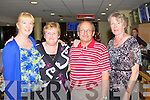 TRACK TIME: Irene Coleman, Tralee and Jack Keating, Castlemaine celebrating their birthdays at the Kingdom Greyhound on Saturday l-r; Irene Coleman, Eileen and Jack Keating and Eileen Kelliher.