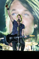 Keith Urban performs at the Festival d'ete de Quebec (Quebec City Summer Festival) Friday July 10, 2015.