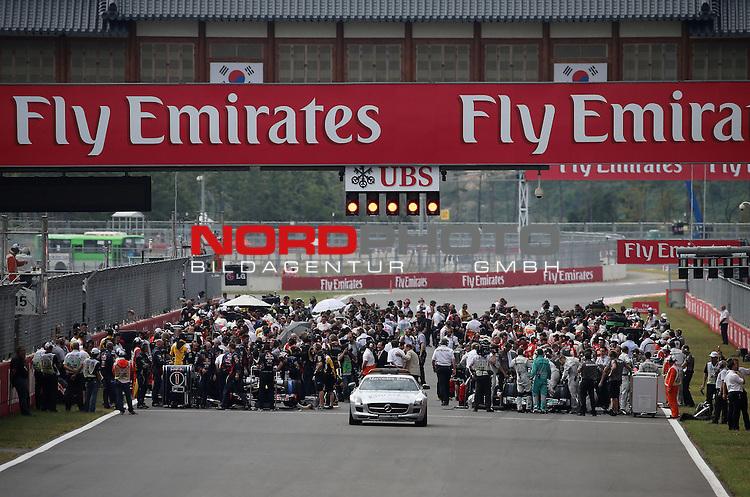 F1 Starting Grid<br /> for Austria &amp; Germany Media usage only!<br />  Foto &copy; nph / Mathis