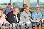 The top table pictured at the Kerry County Board meeting on Monday night were Patrick O'Sullivan, Jerome Conway, Chairman, Peter Twiss, Joe O'Carroll.