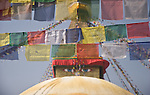 Prayer Flags at Boudinath, Kathmandu, Nepal