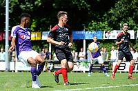 SURHUISTERVEEN - Voetbal, T Fean 58 - FC Groningen, voorbereiding seizoen 2018-2019, 07-07-2018,  FC Groningen speler Mateo Cassierra mist de bal