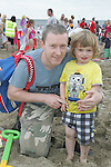 Darren and Luke Crilly at the Prawn Festival in Clogherhead....Photo NEWSFILE/Jenny Matthews.(Photo credit should read Jenny Matthews/NEWSFILE)....This Picture has been sent you under the condtions enclosed by:.Newsfile Ltd..The Studio,.Millmount Abbey,.Drogheda,.Co Meath..Ireland..Tel: +353(0)41-9871240.Fax: +353(0)41-9871260.GSM: +353(0)86-2500958.email: pictures@newsfile.ie.www.newsfile.ie.FTP: 193.120.102.198.
