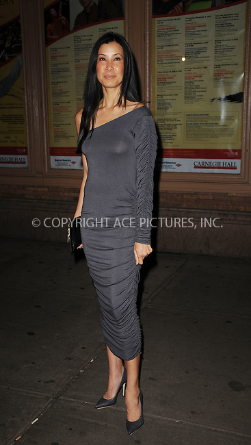 WWW.ACEPIXS.COM . . . . . ....November 9 2009, New York City....Journalist Lisa Ling arriving at the Glamour Magazine 2009 Women of The Year Honors at Carnegie Hall on November 9, 2009 in New York City.....Please byline: KRISTIN CALLAHAN - ACEPIXS.COM.. . . . . . ..Ace Pictures, Inc:  ..tel: (212) 243 8787 or (646) 769 0430..e-mail: info@acepixs.com..web: http://www.acepixs.com