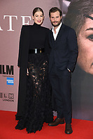 LONDON, UK. October 20, 2018: Rosamund Pike &amp; Jamie Dornan at the London Film Festival screening of &quot;A Private War&quot; at the Cineworld Leicester Square, London.<br /> Picture: Steve Vas/Featureflash