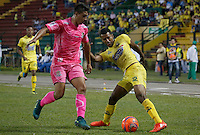 FLORIDABLANCA - COLOMBIA -04-03-2017: Atlético Bucaramanga y Tigres FC en partido por la fecha 8 de la Liga Águila I 2017 jugado en el estadio Álvaro Gómez Hurtado de la ciudad de Floridablanca. / Atletico Bucaramanga and Tigres FC in match for the date 8 of the Aguila League I 2017 played at Alvaro Gomez Hurtado stadium in Floridablanca city. Photo: VizzorImage / Duncan Bustamante / Cont