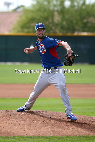 Trevor Clifton - Chicago Cubs 2016 spring training (Bill Mitchell)