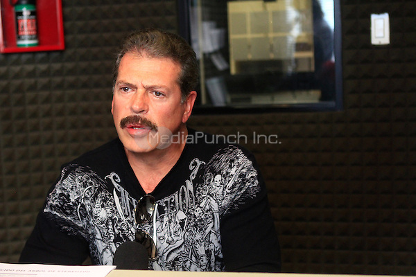 "¨EXCLUSIVE¨ NOVEMBER 23: Mexican Actor Sergio Goyri seen at Radio Stereo 100 before his one man performance of ""Los Hombres son de Marte, las Mujeres de Venus"". Hermosillo Sonora, Mexico. Credit: Luis Gutierrez/NortePhoto/MediaPunch Inc. ***NO SPAIN*** ***NO MEXICO***"