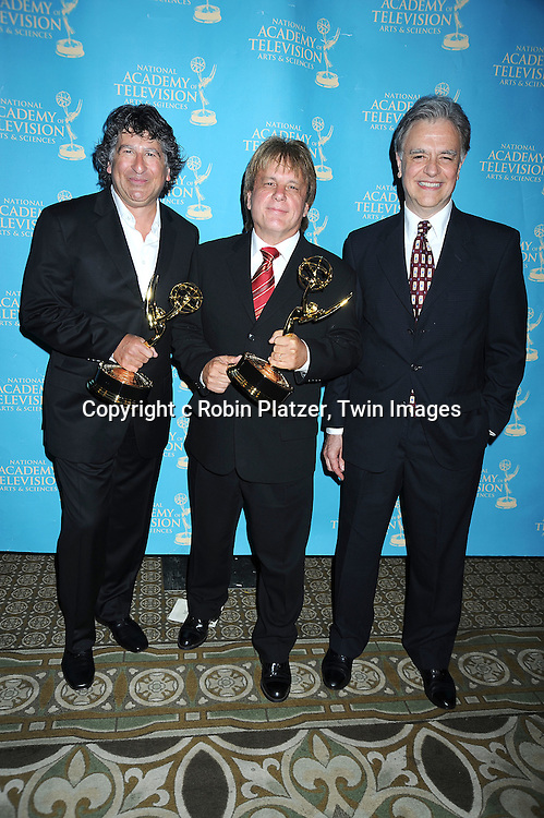 Young and Restles winners for music attending the 37th Daytime Emmy Awards Creative Arts & Entertainment Awards on JUne 25, 2010 at the Bonaventure Hotel in Los Angeles.