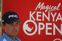 Anton Karlsson (SWE) in action during previews ahead of the Magical Kenya Open, Karen Country Club, Nairobi, Kenya. 12/03/2019<br /> Picture: Golffile | Phil Inglis<br /> <br /> <br /> All photo usage must carry mandatory copyright credit (&copy; Golffile | Phil Inglis)