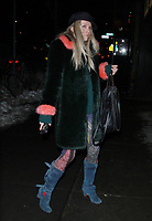 NEW YORK, NY - JANUARY 11: Theodora Richards arriving at the IFC Films premiere of Freak Show at the Landmark Sunshine Cinema in New York City on January 10, 2018. Credit: RW/MediaPunch
