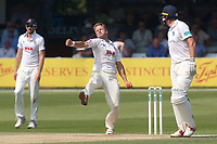 Neil Wagner in bowling action for Essex during Essex CCC vs Warwickshire CCC, Specsavers County Championship Division 1 Cricket at The Cloudfm County Ground on 21st June 2017