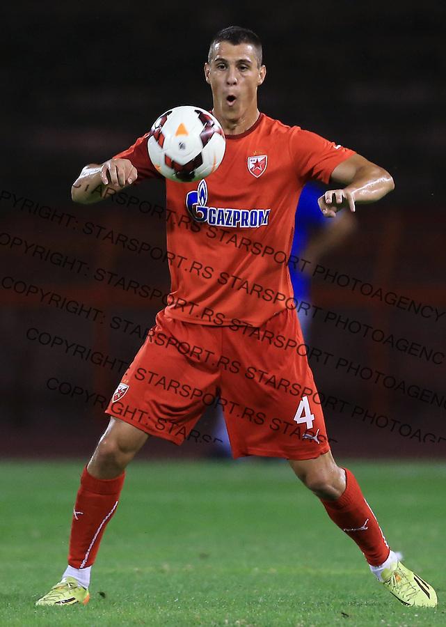Fudbal season 2014-2015<br /> FK Crvena Zvezda pripreme <br /> Crvena Zvezda v BSK Borca<br /> Darko Lazic<br /> Beograd, 08.02.2014.<br /> foto: Srdjan Stevanovic/Starsportphoto &copy;