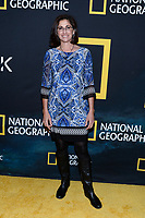 "NEW YORK CITY - MARCH 14: Astronaut Nicole Stott attends National Geographic's ""One Strange Rock"" screening and Q&A at Alice Tully Hall at Lincoln Center on March 14, 2018 in New York City. (Photo by Anthony Behar/NatGeo/PictureGroup)"