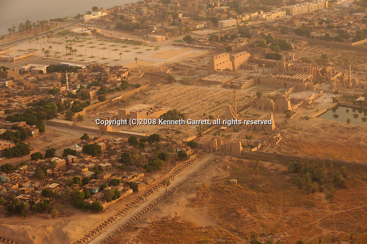 Hatshepsut; Egypt; Aerials; Karnak Temple; New Kingdom; 18th dynasty; Luxor
