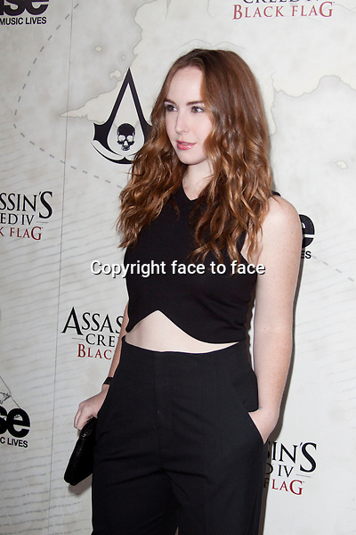 WEST HOLLYWOOD, CA - OCTOBER 22: Camryn Grimes attends the Assasin's Creed IV Black Flag Launch Party at Greystone Manor Supperclub on October 22, 2013 in West Hollywood, California.<br />