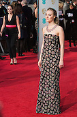 London, UK. 14 February 2016. Irish-American actress Saoirse Ronan. Red carpet arrivals for the 69th EE British Academy Film Awards, BAFTAs, at the Royal Opera House. © Vibrant Pictures/Alamy Live News