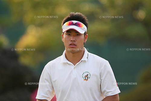 Hideki Matsuyama (JPN), .APRIL 18, 2013 - Golf : .21st Japan Golf Tour Token Homemate Cup 2013 .First Round .at Token Tado Country Club Nagoya, Mie, Japan. .(Photo by YUTAKA/AFLO SPORT)