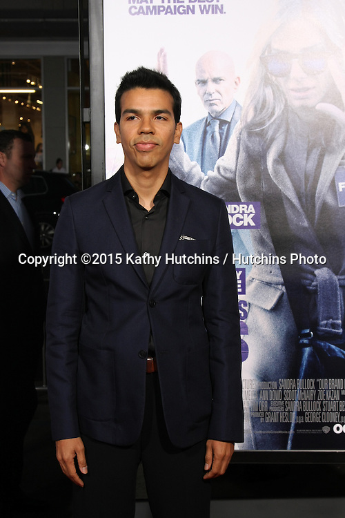 """LOS ANGELES - OCT 26:  Octavio Gomez Berrios at the """"Our Brand is Crisis"""" LA Premiere at the TCL Chinese Theater on October 26, 2015 in Los Angeles, CA"""