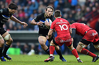Max Clark of Bath Rugby in possession. Heineken Champions Cup match, between Stade Toulousain and Bath Rugby on January 20, 2019 at the Stade Ernest Wallon in Toulouse, France. Photo by: Patrick Khachfe / Onside Images