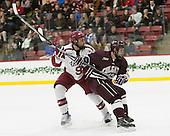 Jake Horton (Harvard - 91), Tylor Spink (Colgate - 18) -  - The Harvard University Crimson defeated the visiting Colgate University Raiders 7-4 (EN) on Saturday, February 20, 2016, at Bright-Landry Hockey Center in Boston, Massachusetts.