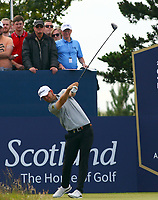 Bernd Wiesberger Aut 1st tee during the preview of the Aberdeen Standard Investments Scottish Open, Renaissance Club, North Berwick, East Lothian, Scotland. 11/07/2019.<br /> Picture Kevin McGlynn / Golffile.ie<br /> <br /> All photo usage must carry mandatory copyright credit (© Golffile | Kevin McGlynn)