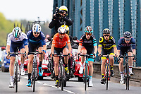 Picture by Alex Whitehead/SWpix.com - 03/05/2018 - Cycling - 2018 Tour de Yorkshire - Stage 1: Beverley to Doncaster - Emerson Oronte of Team Rally Cycling in the break. Harry Tanfield.