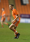 04/12/2018 FA Youth Cup 3rd Round Blackpool v Derby County<br /> <br /> Emil Jaaskelainen