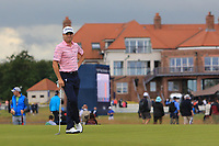 Justin Thomas (USA) on the 8th during Round 2 of the Aberdeen Standard Investments Scottish Open 2019 at The Renaissance Club, North Berwick, Scotland on Friday 12th July 2019.<br /> Picture:  Thos Caffrey / Golffile<br /> <br /> All photos usage must carry mandatory copyright credit (© Golffile | Thos Caffrey)