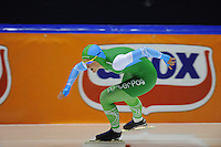 SCHAATSEN: HEERENVEEN: 25-10-2014, IJsstadion Thialf, Trainingswedstrijd schaatsen, Rosa Pater, ©foto Martin de Jong