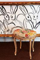 vintage antique stool