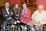 Enjoying themselves at the Poker Classic in aid of Killahan N.S. held in McElligot's Bar, Abbeydorney on Friday night were l/r Henry McElligot, Angie Dore, Mercy Fleming and Declan Ryan.