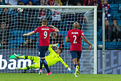 June 10th 2017, Ullevaal Stadion, Oslo, Norway; World Cup 2018 Qualifying football, Norway versus Czech Republic;  Alexander Soderlund of Norway scoring a goal during the FIFA World Cup qualifying match